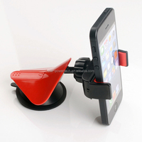 2014 best single-handed operation car holder Combination and Universal Use plastic holder