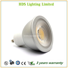 6W COB spotlight CE RoHS new pravite model CRI>80 GU10 MR16 High quality