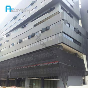 Project in Singapore Aluminum Expanded Mesh