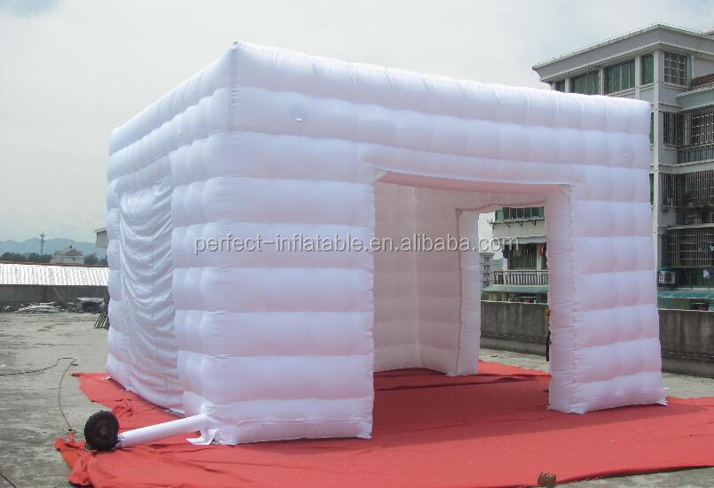 2017 inflatable exhibition booth inflatable cube tents for advertising canopy tents for sale