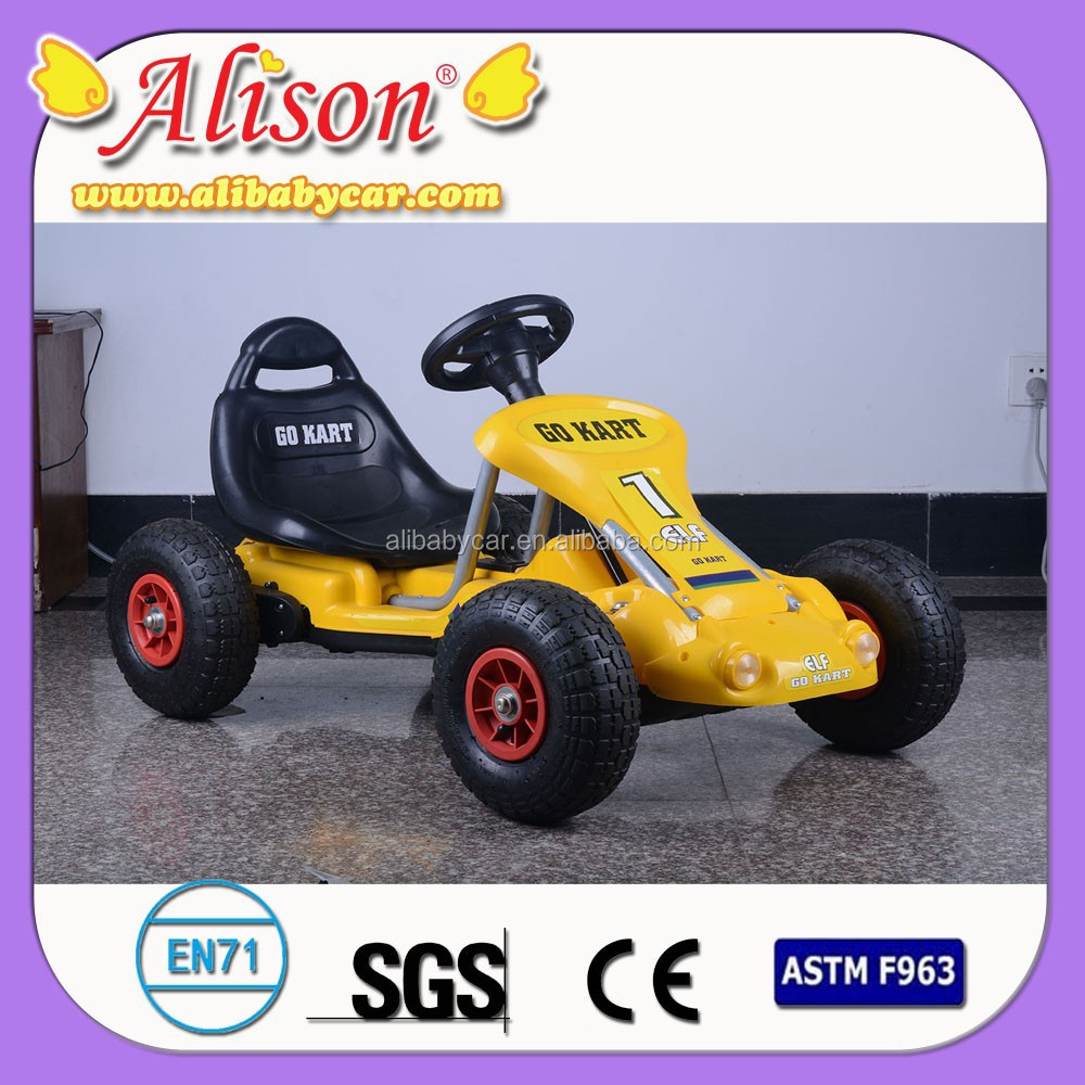 New Alison small mini rechargeable toy car/plastic battery go kart/electric car curtain