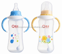 300ml adult baby pp feeding bottle with handle low price