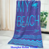 Full Color Printing 100% Cotton Beach Towels