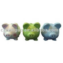 Ceramic money bank piggy bank saving bank