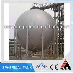 Stainless Steel Expansion Oil Storage Spherical Tank