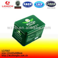 Custom made tea tin bags and case Wenzhou ,China