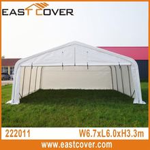22'x20' Peak Roof W6.7xL6.0xH3.3m Factory direct-sale two car garage tent