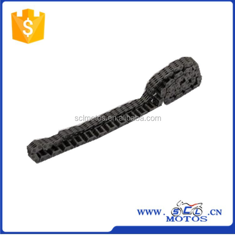 SCL-2014080148 Hot Selling Timing Chain for WH100 Motorcycle Engine Parts