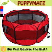 Durable Pet Tent/dog pen/Dog Cage with Strong Steel Frame Lightweight and Portable
