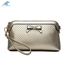 China supplier wholesale leather clutch bag and leather pouch bag