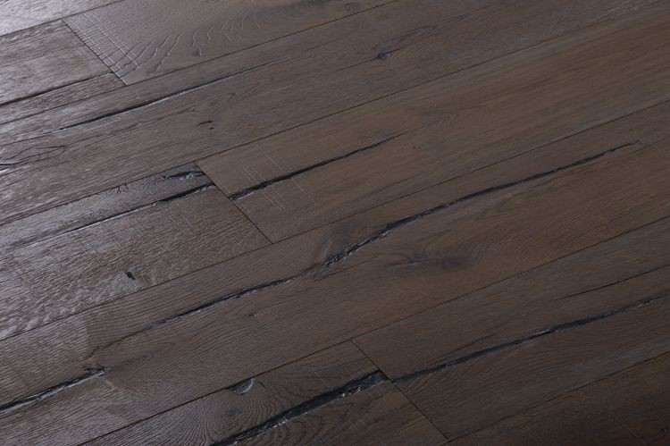 Rustic Plank Engineered European Oak Wood Flooring