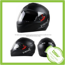 Racing Race Men's Motorcycle Helmet - Black/Green / Large
