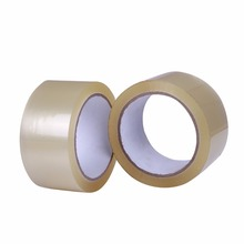 raw material of bopp and anti-theft clear packing tape with custom