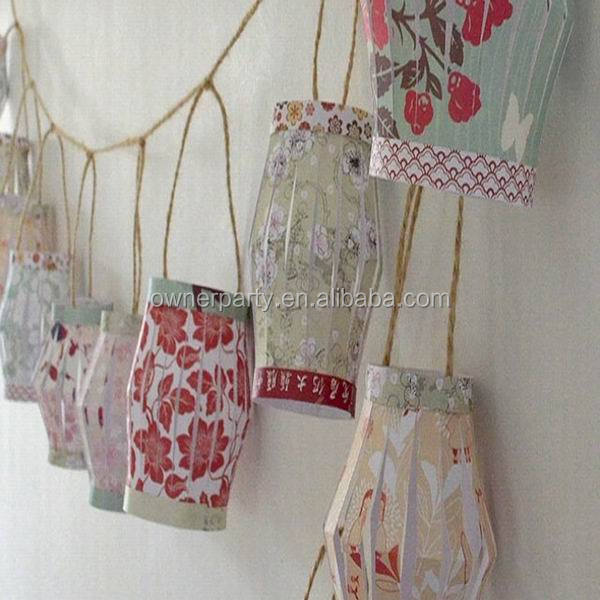 Hot Sale Factory Price High Quality Beautiful Paper Lantern Garland