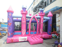 2014 commercial use inflatable princess bouncy castle