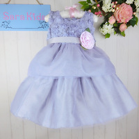 Kids Wear Manufacturers European Design Clothing Ball Gowns For Children Pattern