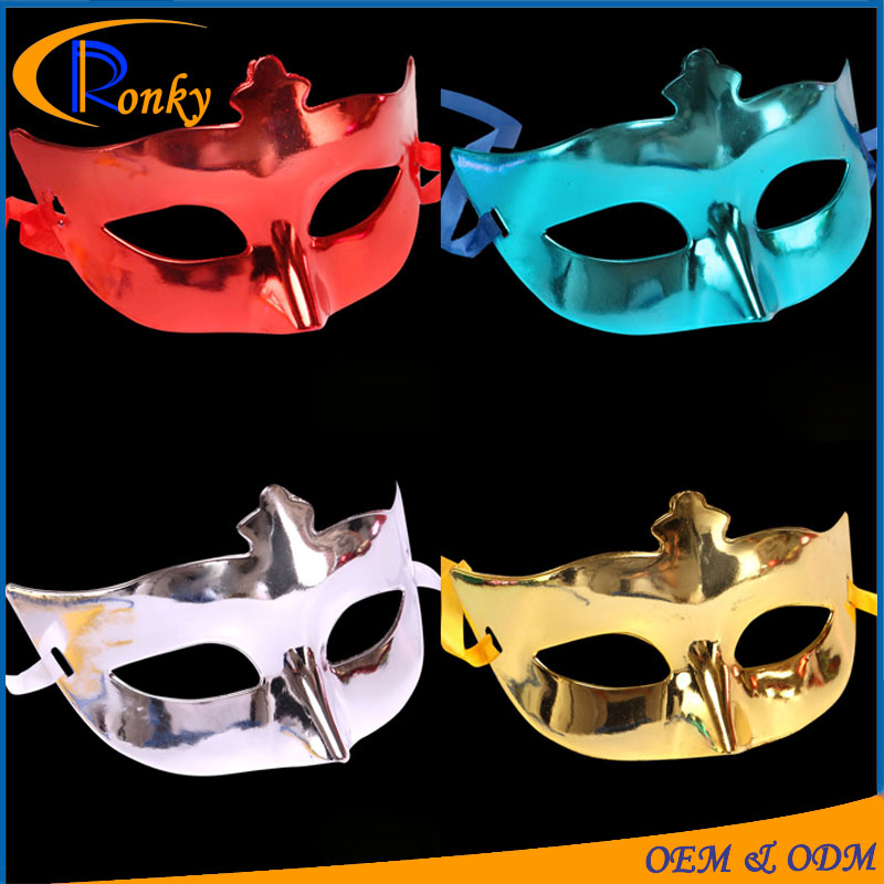 Fancy party wear different types of mask pvc party mask of venice