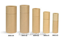 customised sizes round deodorant paper tubes packaging