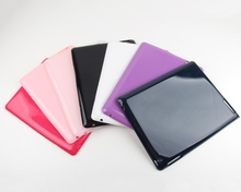 Side Flip Stand TPU+PU Leather Cover Case for iPad Air 2 / iPad 6 with Elastic Belt New arrival Color TPU cover Case