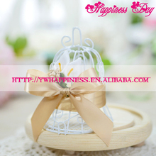 European Bird Cage Wedding Gift Box Romantic Fresh Aesthetic Mori Candy Boxes