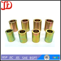 Hydraulic Pipe End Fittings ,Convoluted Metal Hose Ferrules With Good Quality