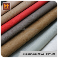 Brushed finished pattern china products wholesale car seat cover leather