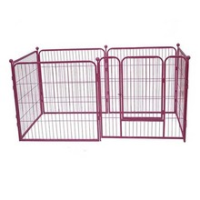 Chain link dog kennel panels / used dog kennels and runs for sale
