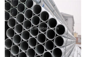 trade/assurance goden supplier hot selling zinc coated/galvanized round steel pipe/tube JXC 040