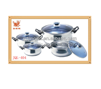 alibaba hot selling stainless steel alibaba cooking pot cookware set with eco friendly material