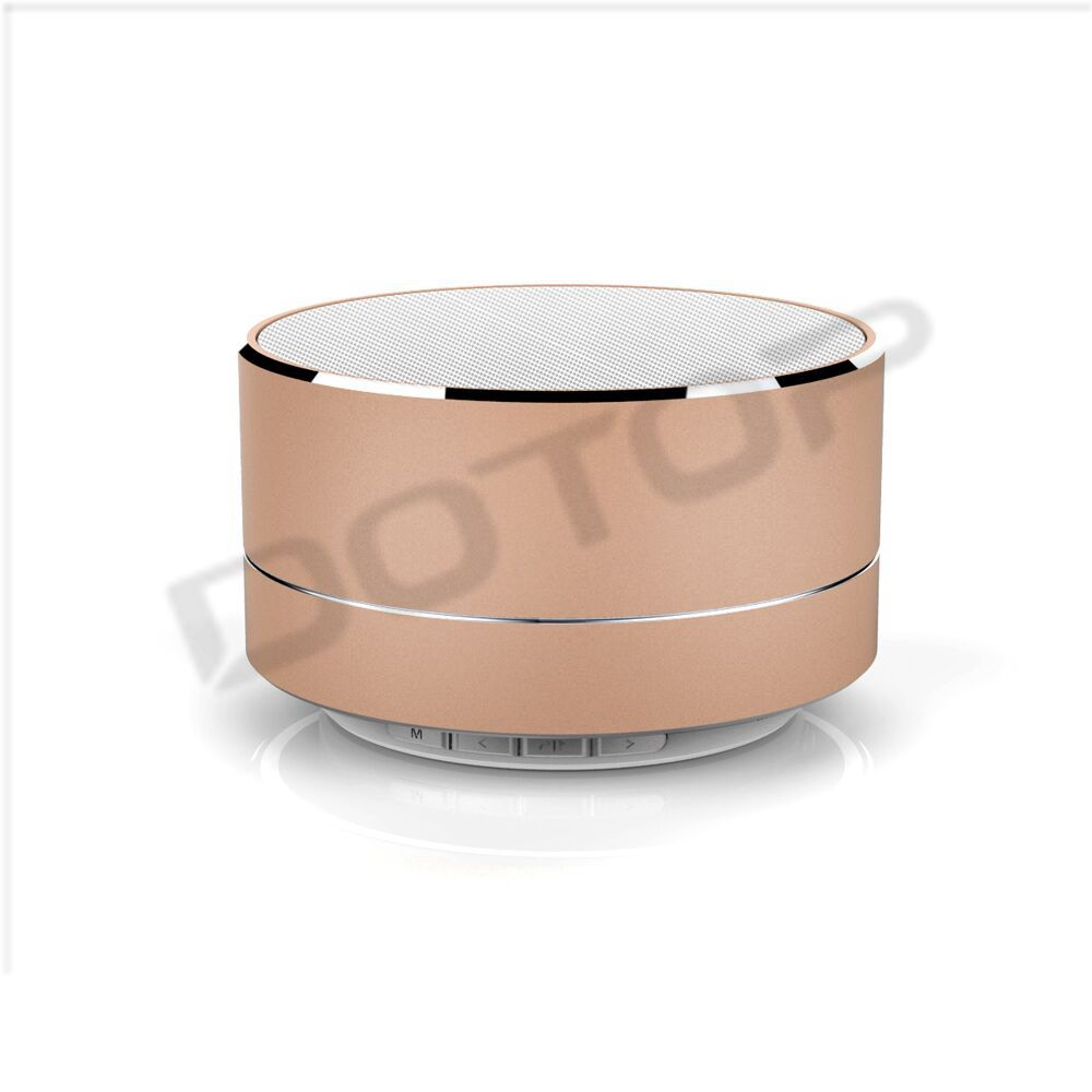 A10 private Mini Metal Bluetooth Speaker For Christmas With LED light