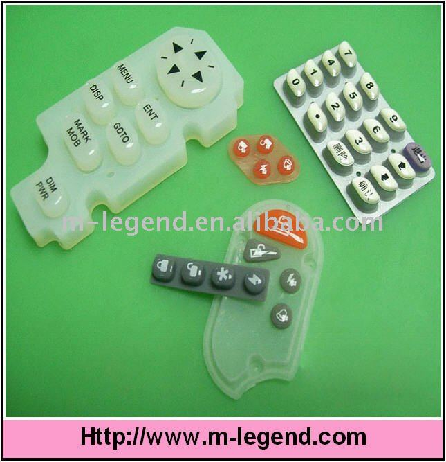 silicon rubber keypad mould for electric appliance