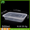 Disposable microwave pp food container takeaway food container / box