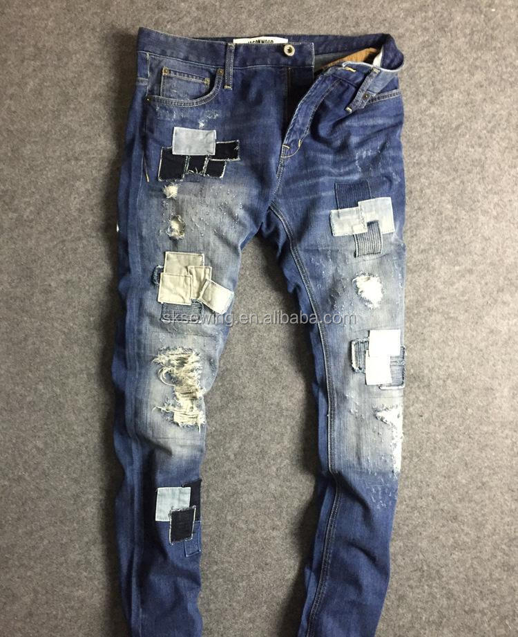 pants Computer automatic program sewing machine for jeans trousers