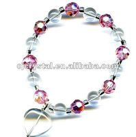 Glass Beads Bracelet for Jewelry