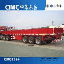 CIMC 3 Axles Side Wall Cargo Trailer for sales