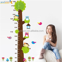 zooyooPVC CD003Removable animal sticker wallpaper interior decoration tree measurement for kids