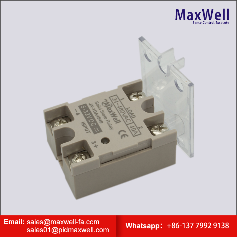 DC to AC Triple phase solid state relay SSR-3DA/3AA heat sink with Fan