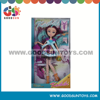 Vinyl Toy Doll Kailili Doll and Girl Dolls Playset