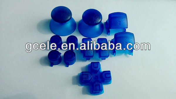 Clear Blue * for SONY PS3 Controller replacement repair parts / accessories for ps3 controller