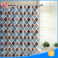 High standard PEVA bath use simple curtain design with great price