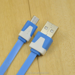 Tommy and Lee Travel Mate High Speed Flat Micro 3.0 USB Cable For Sumsung