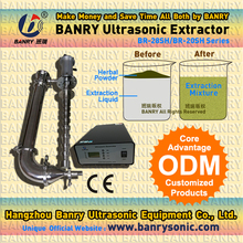 High efficiency ultrasound extraction Plant cells ultrasonic extractor