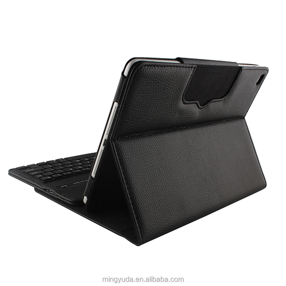free Customized Embossed Logo wireless bluetooth keyboard case for ipad cover