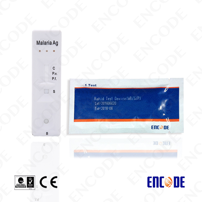 One-step Malaria Rapid test / Plastic cassette for rapid test / Medical devices