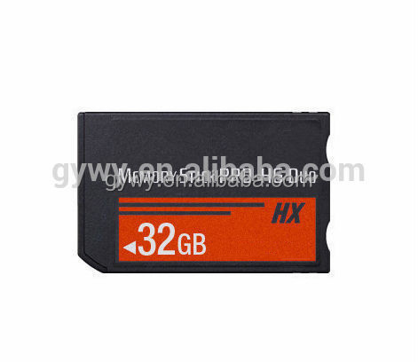 High speed MS Memory Stick Pro Duo Card for sony camera cards