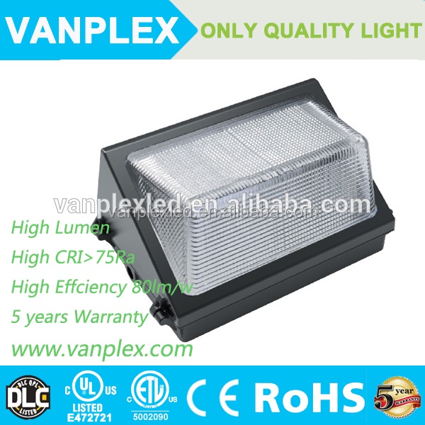 LED Wall Pack Lamp ,100w dlc led wall pack ,waterproof outdoor light