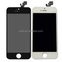 White mobile phone lcd display touch screen for iphone 4