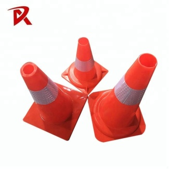 Flexible Soft PVC Traffic Cone/rubber traffic cone