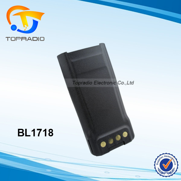 TC-3000G Battery BL1718 Walkie Talkie Battery Pack 1800mAh for Hytera HYT TC-3000G TC-700S TC-720S Transceiver Radios TC-3000G B