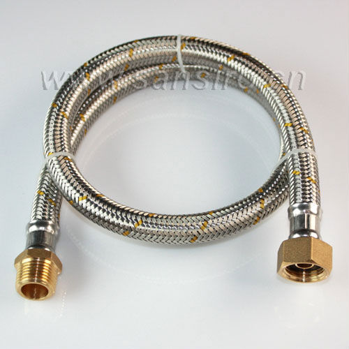 Chile Fireproof Stainless Steel Wire Braided Gas Flexible Hose with NBR inner tube